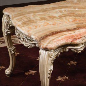 Meja Makan Marmer Luxury Luis Victorian