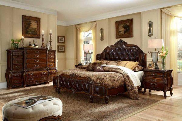 Tempat Tidur Klasik Lavender Oscar
