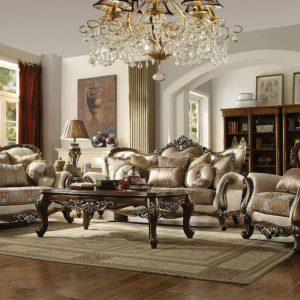 Set Sofa Ukir Meraviglia Ruang Tamu Klasik