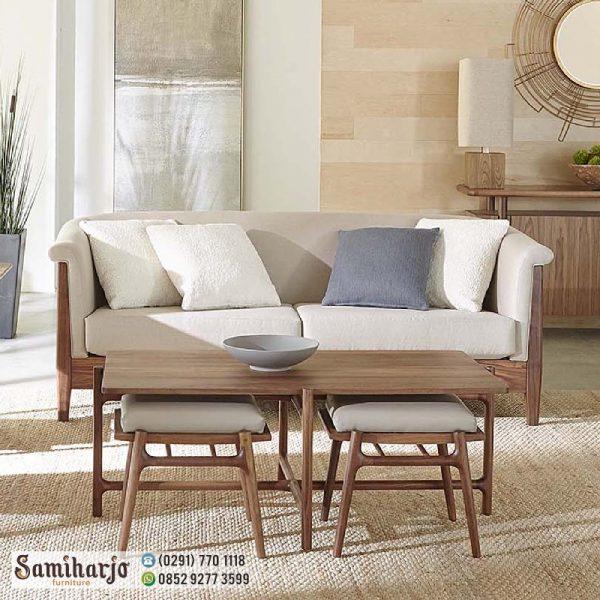 Kursi Sofa Minimalis Modern Glory Stool