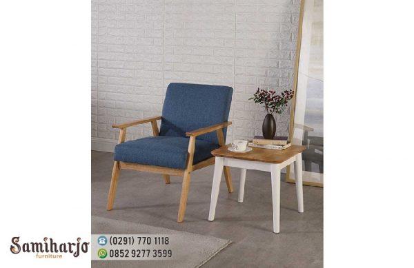 Sofa Kayu Minimalis Atlantik Modern
