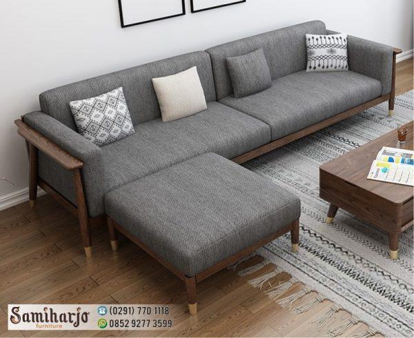 Sofa Kayu Minimalis Sentoria Kursi Santai