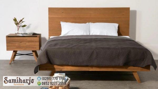 Tempat Tidur Modernisme simple
