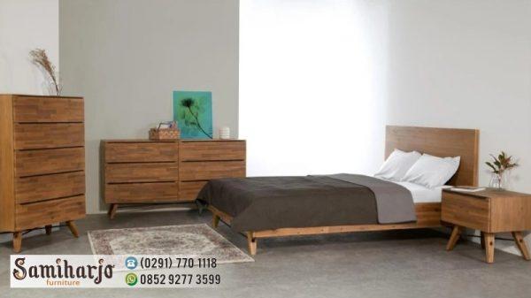 Tempat Tidur Modernisme simple Set Kamar