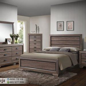 Set Kamar Tidur Minimalis Rustik Modern