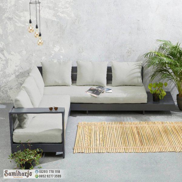 Sofa Santai Keluarga Belmonte - Sofa Keluarga Minimalis Coffe Brown